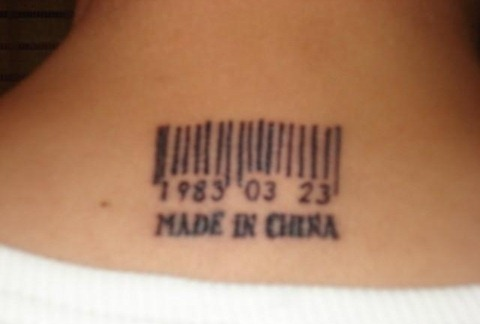 chinese words tattoos. Tattoos of Chinese characters