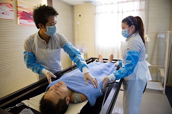 Mortician Occupation Becoming Popular In China  Chinahush